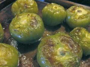 Roasted Tomatillos
