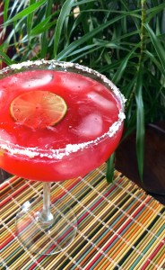 Strawberry Margarita | #pkway