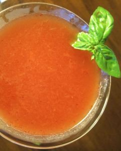 Strawberry Martini | #pkway