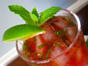 Strawberry Mojito | #pkway