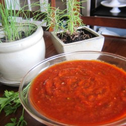 Making Fresh Tomato Sauce (Cooking Video)