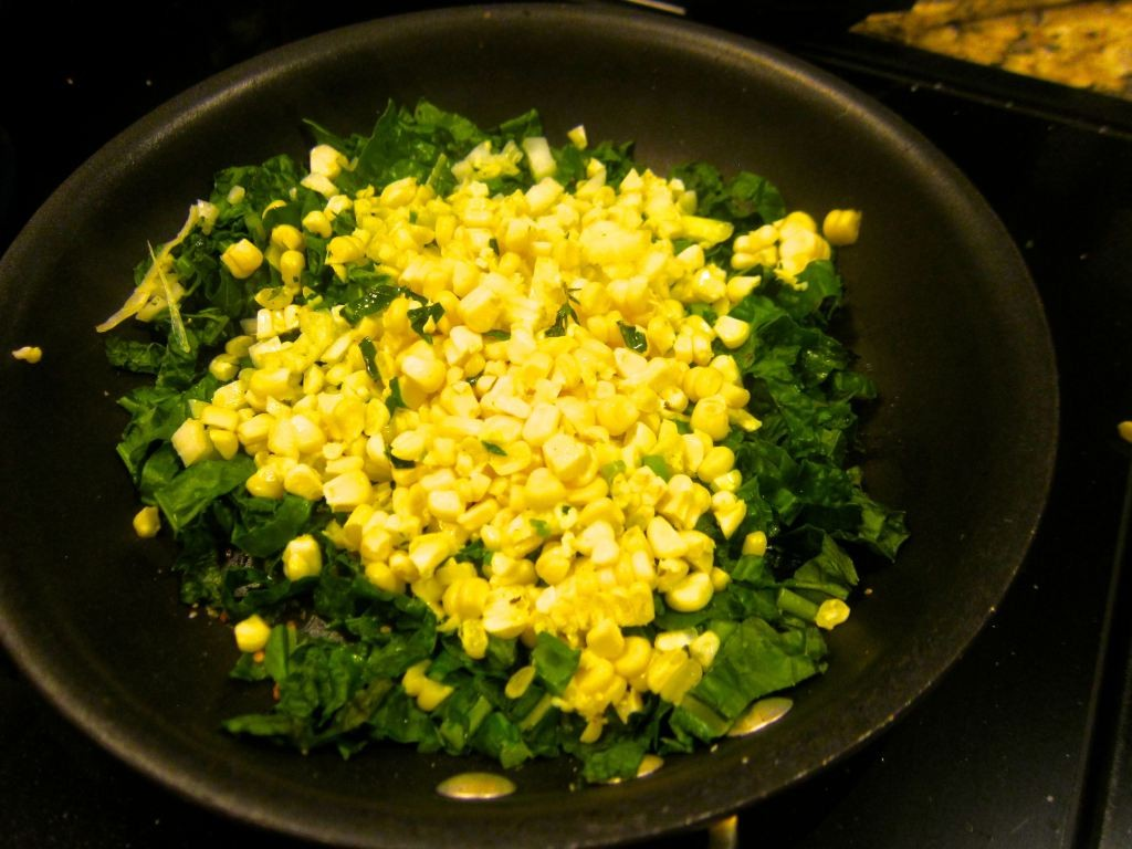 Kale and Corn Sauté