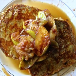 French Toast Tuesday | French Toast with Apple Compote