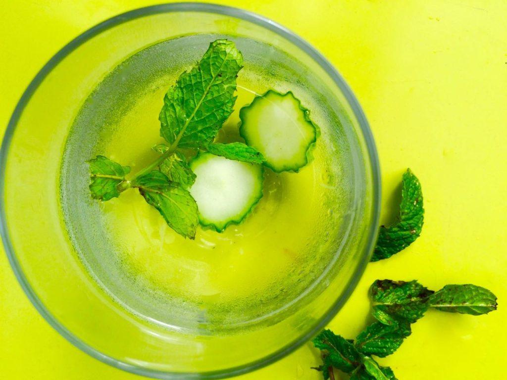 Cucumber Mint Water
