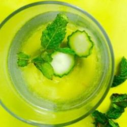 Cucumber Mint Water: No Sugar, No Waste