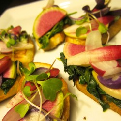 French Radish Sandwiches, the P.K. Way