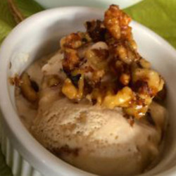 Autumn Indulgence: Maple Walnut Ice Cream