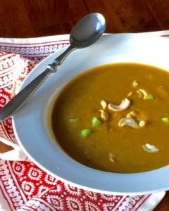 Pumpkin Cashew Soup