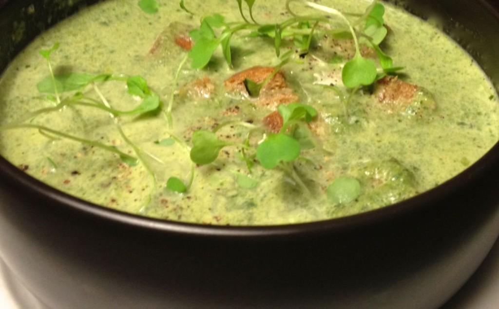 Broccoli and Cauliflower Soup | #pkway