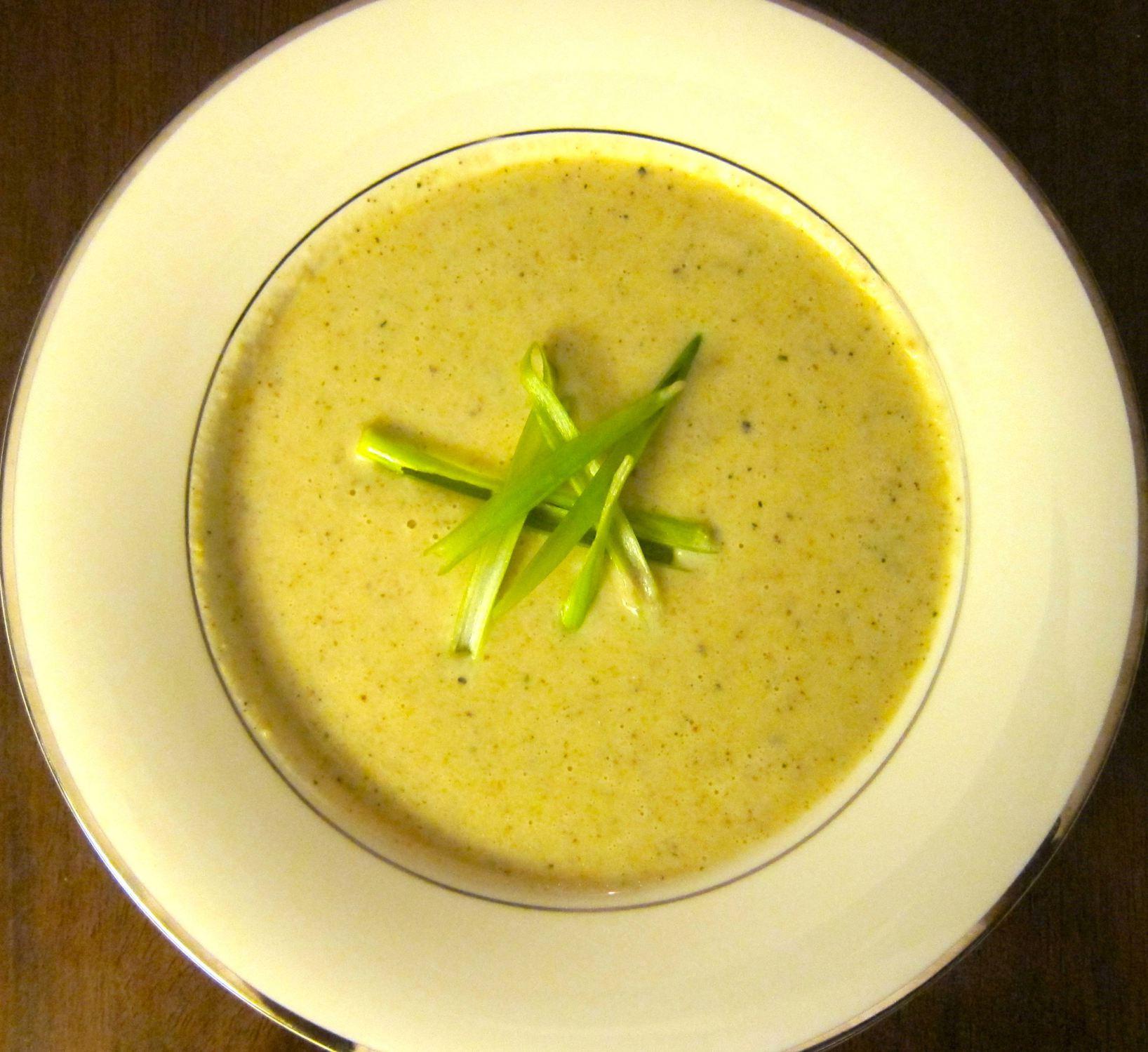 Artichoke Soup | #pkway