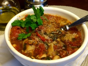 Hearty Vegetable Soup (Minestrone) | pkway