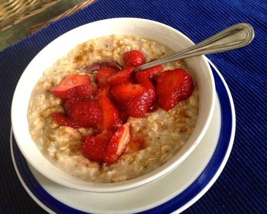 Strawberry Oatmeal | PK Newby