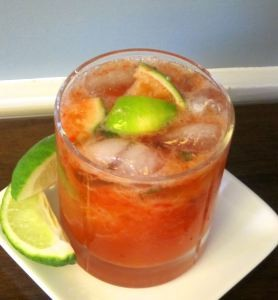 Strawberry Caiparinha