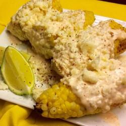 Summer Indulgence: Mexican Street Corn with Garlic Aioli and Cotija Cheese