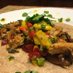 Sizzling Fish Fajitas with Mango Salsa: Colorful and Delicious