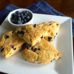 Blueberry Ginger Scones: Simply Scrumptious