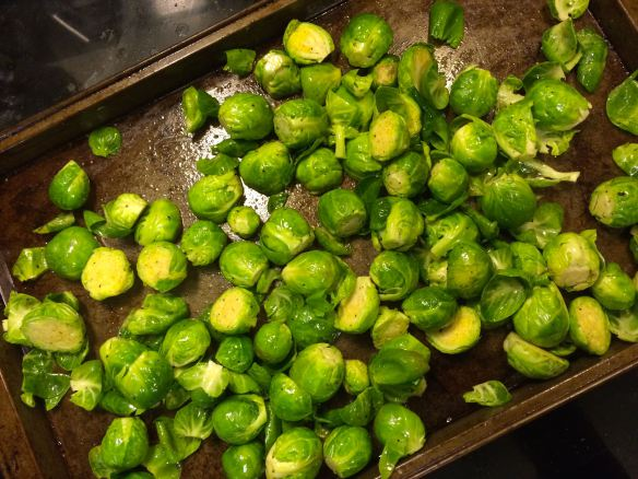 Brussels Sprouts pre-roast