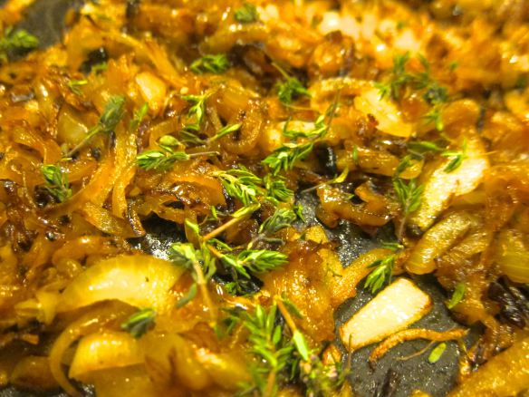 Caramelized Onions with Thyme