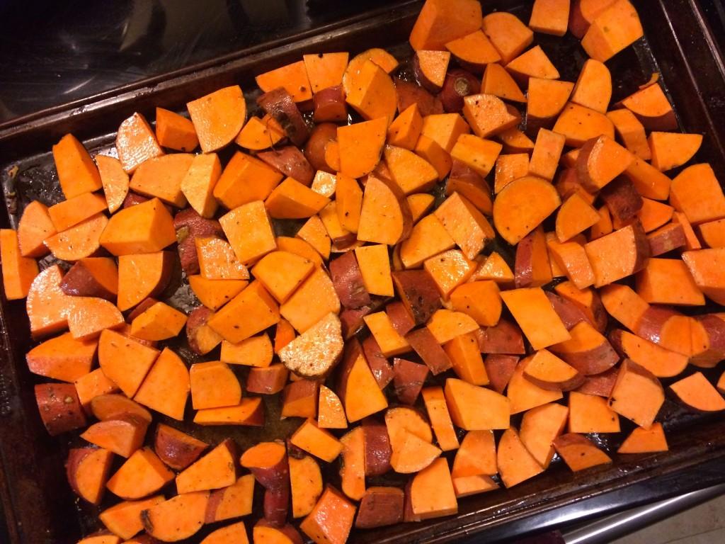Sweet potatoes Pre-Roast