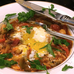 Shakshuka (Eggs in Purgatory): Perfect for Breakfast, Lunch, or Dinner