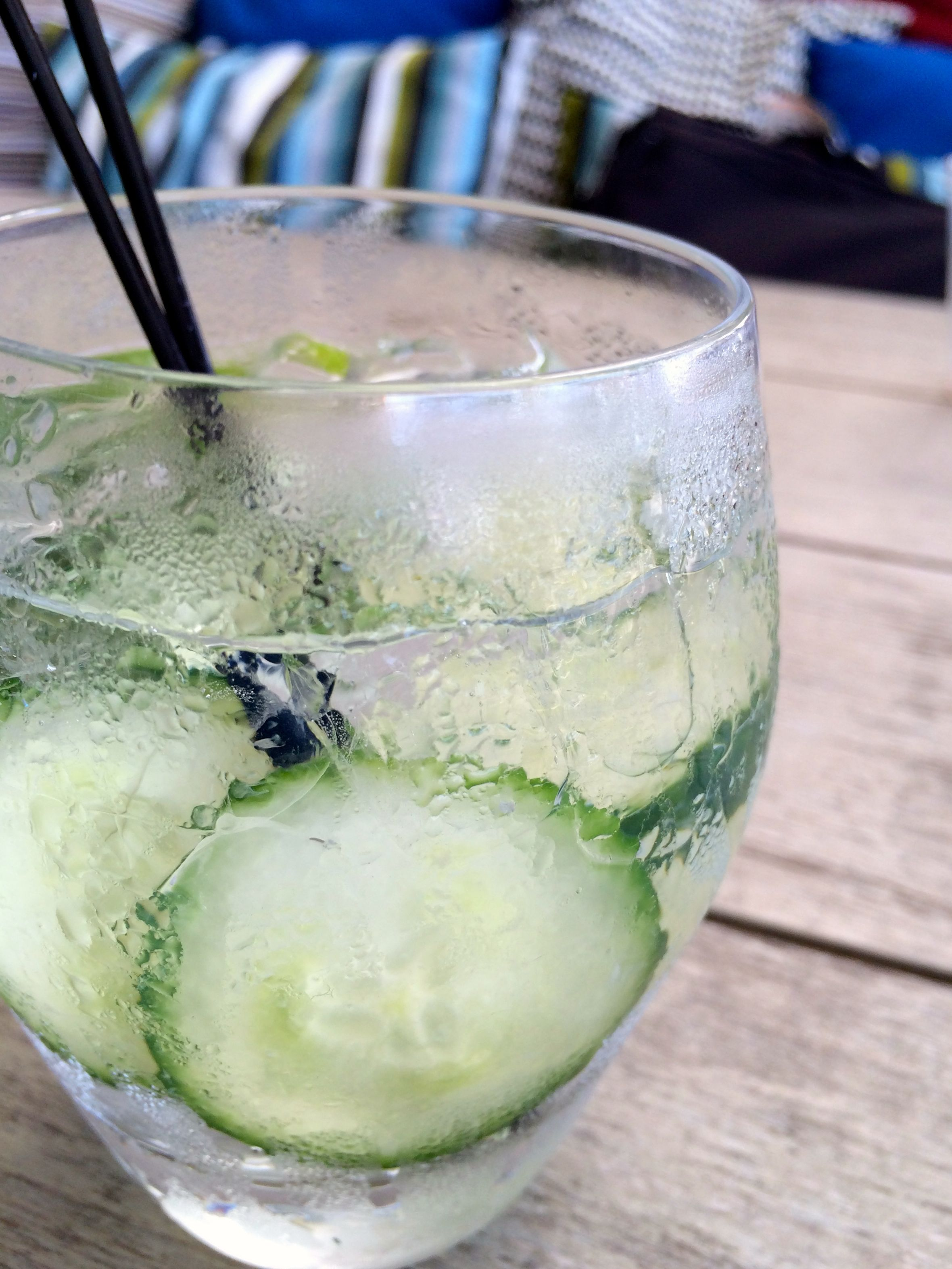 Cucumber Lime Sprtizer | #pkway