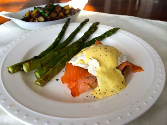 Eggs Benedict with Smoked Salmon and Lemony Hollandaise | PK Newby