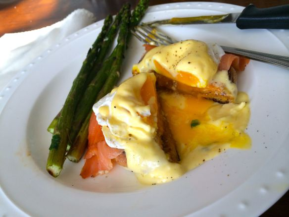 Eggs Benedict with Smoked Salmon