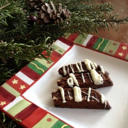 Healthy Holidays: Triple Chocolate Biscotti (Recipe)