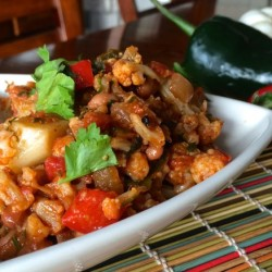 Mexican Cauliflower (Recipe)