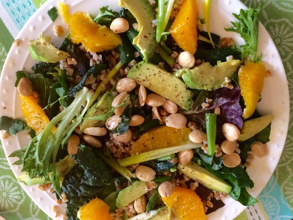 Big Salad - Mediterranean Diet