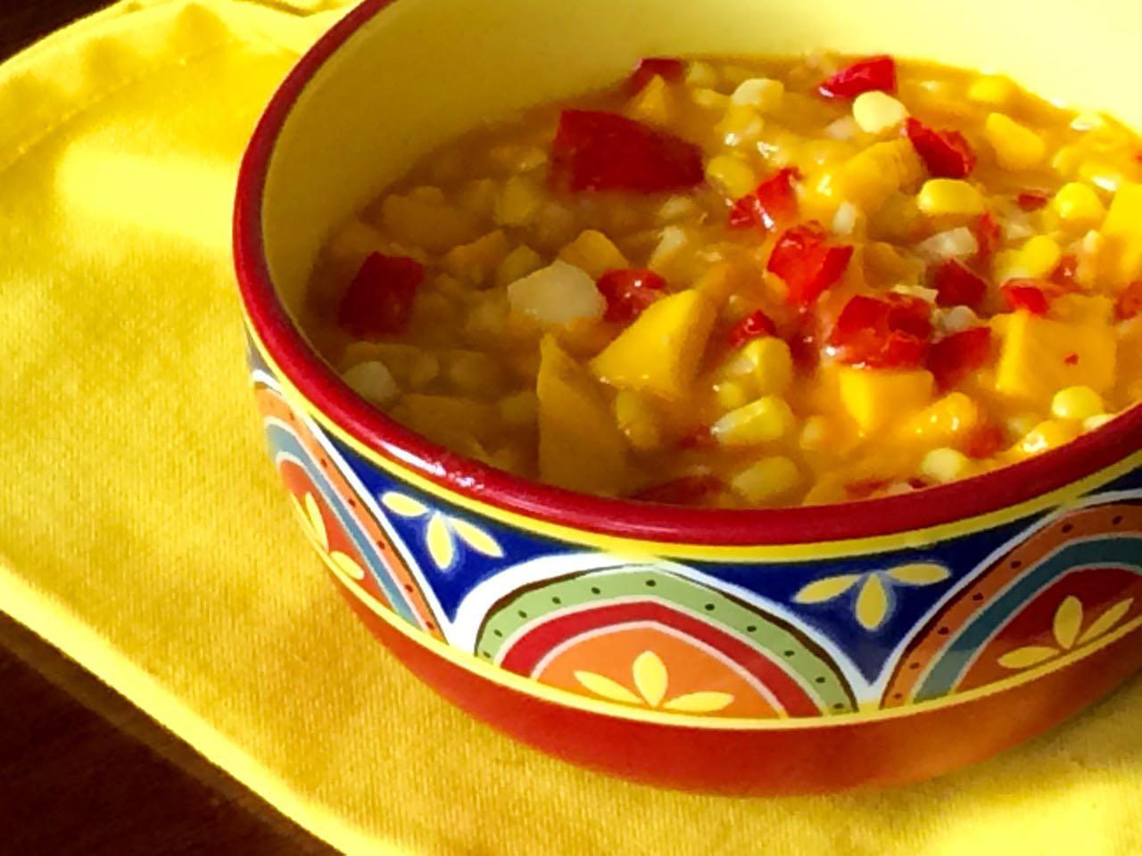Corn Salsa with Mango