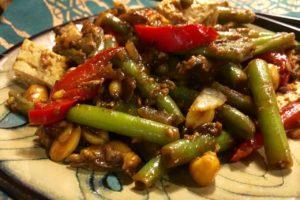 Green Beans and Tofu Saute