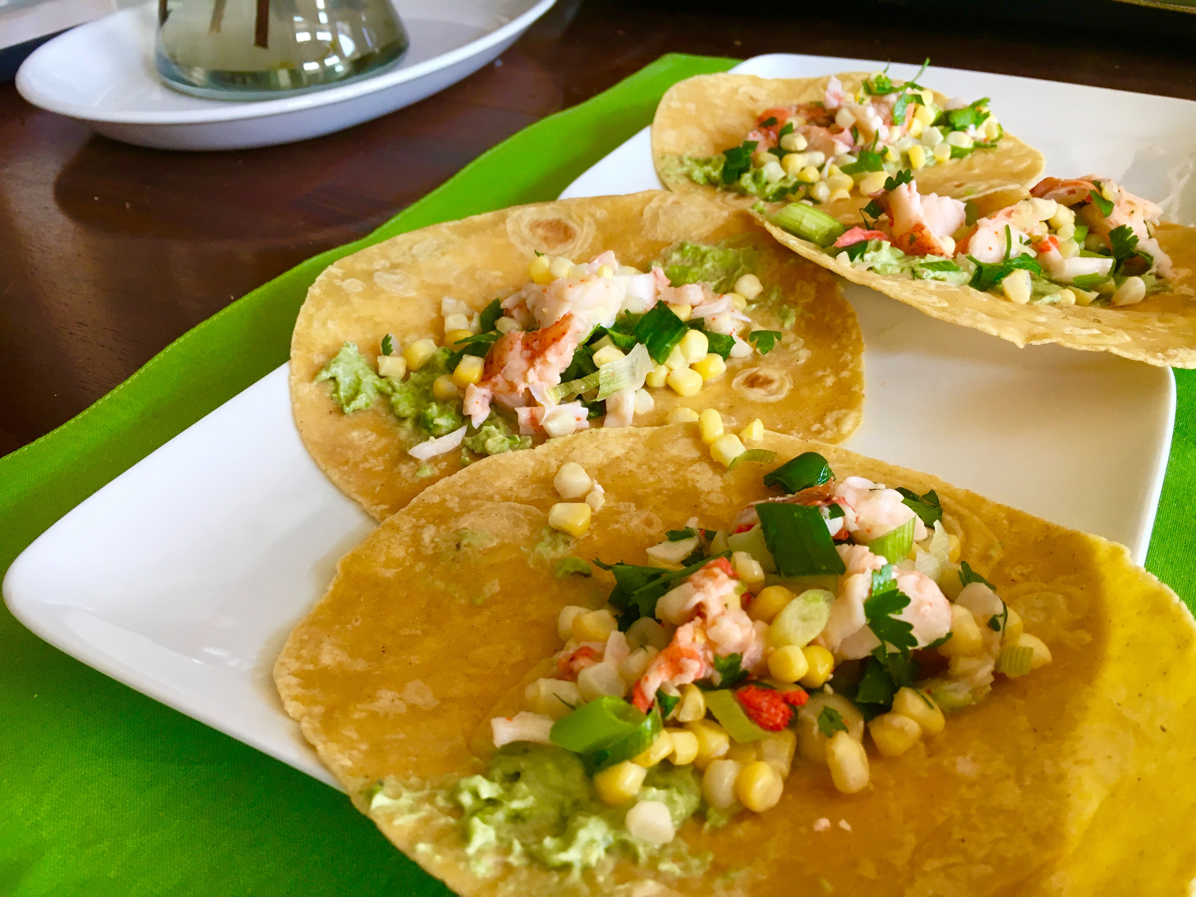 Lobster Taco Recipe - PK Newby - Taco ...