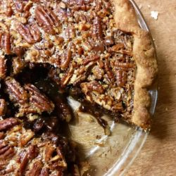 Oozy Boozy Chocolate Bourbon Pecan Pie (Recipe)